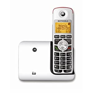 Motorola DECT 6.0 Cordless Big Button Phone K301