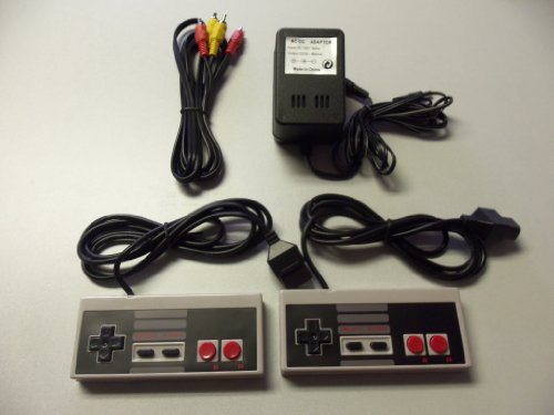 Nintendo Nes Controllers, Av Cable, Power Adapter Bundle front-330216