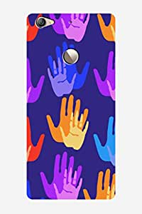 ZAPCASE BACK COVER FOR LeTv LE 1S - Multicolor