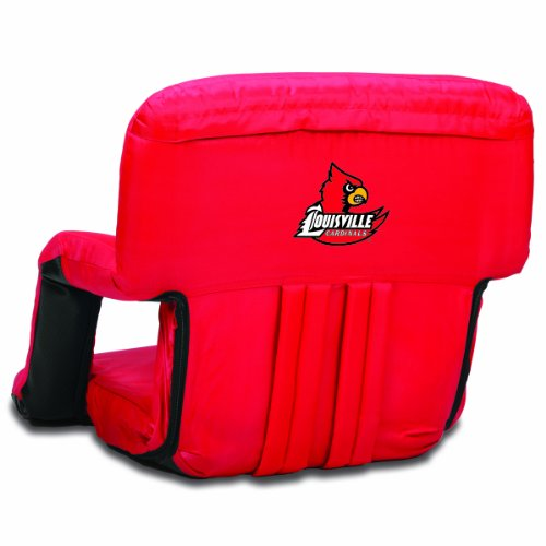 NCAA Louisville Cardinals Ventura Portable Reclining Seat, Red at Amazon.com