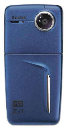 Kodak Zx1 720p Pocket HD Camcorder (Blue)