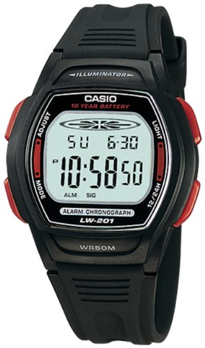 Casio Womens LW201 4AV Quartz Digital
