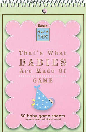Baby Shower Game Pad - That's What Babies are Made of