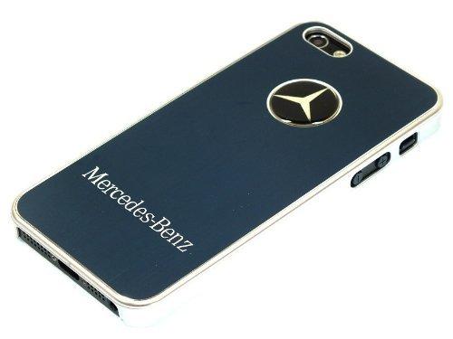 iPhone5 ケース 【Mercedes Benz】 アルミ素材 メルセデスベンツ ブラック