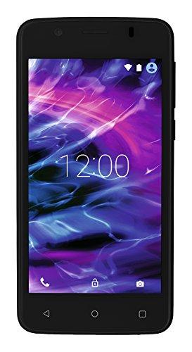 Medion 30019946 E4506 11,4 cm (4,5 Zoll) Smartphone (Touchscreen-Display, 5 Megapixel Kamera, Quad-Core-Prozessor, Dual-SIM, WiFi, 8GB interner Speicher, Android Lollipop 5.1) schwarz