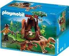 Playmobil 5233 Deinonychus and Velociraptors