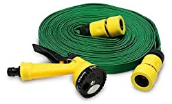 CheckSums (11237) 10 Mtr Pressure Washing Multifunctional Water Spray Jet Gun Hose Pipe For Garden/Car/Bike/Pet Wash- Assorted Color (FREE OTG CABLE OF Rs.200)
