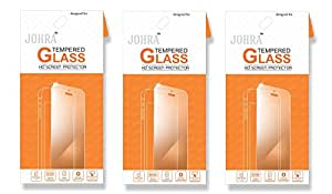 Johra Real HD+Tempered Glass For Vivo X7 Plus Tempered Glass - Pack of 3