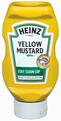 Yellow Mustard for Sale: Heinz Yellow Mustard, 17.5-Ounce ...