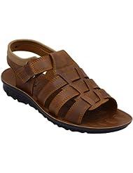 TFW Men's Brown Floater Sandals