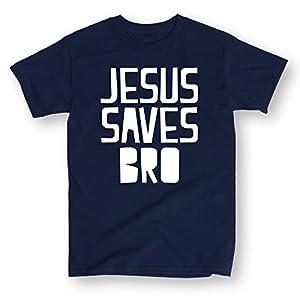 Jesus Saves Bro-ADULT SHORT SLEEVE TEE