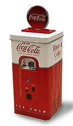COCA-COLA (コカ・コーラ) 自動販売機 缶製貯金箱