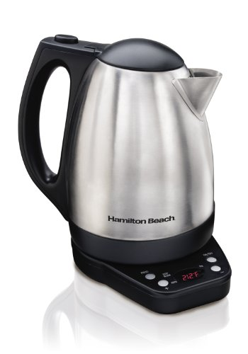 Hamilton Beach 40996 Programmable Kettle, 1.7-Liter (Electric Kettle Digital compare prices)