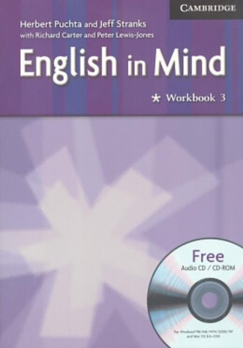 English in mind. Workbook. Per le Scuole superiori. Con CD Audio. Con CD-ROM: English in Mind 3 Workbook with Audio CD/CD-ROM