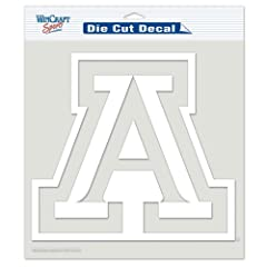 Buy Arizona Wildcats Official NCAA 8x8 Die Cut Car Decal by WinCraft