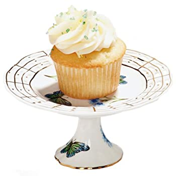 Blue Butterfly Mini Cupcake Pedestal