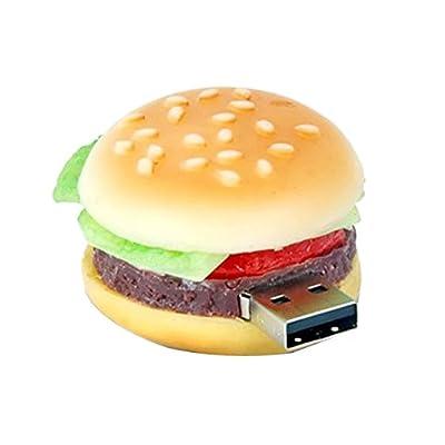 Microware 16GB Burger ShMicroware Designer Pendrive