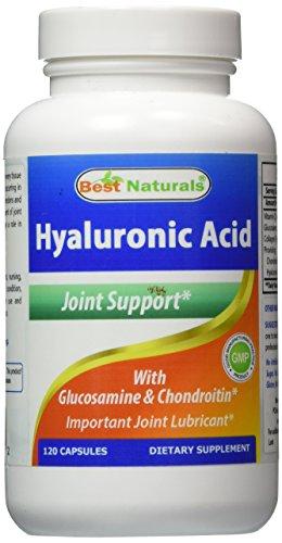 Best Naturals Hyaluronic Acid 100 120 Capsules