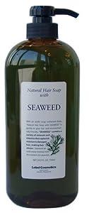 Lebel Cosmetics | Shampoo | Natural Hair Soap with Seaweed Shampoo 720ml (Japan Import)