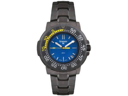 Traser Military Watch Nautic Stainless Steel PVD (P6504.33C.6E.03)