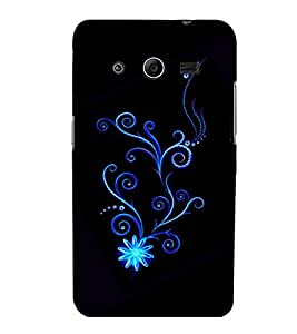 printtech Pattern Fantasy Back Case Cover for Samsung Galaxy Core 2 G355H