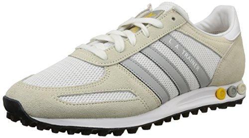 Adidas La Trainer Scarpe sportive, Uomo, Multicolore (Ftwr White/Clear Onix/Super Yellow F15), Taglia 46