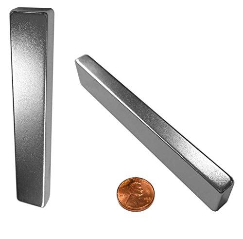 "X-bet MAGNET ™ - Neodymium Bar Magnets N45 Grade (Ndfeb) - 3"" x 1/2"" x 1/4"" - Rare Earth Block"