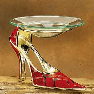 Collectible High Heel Incense Burner Aromatherapy Decoration