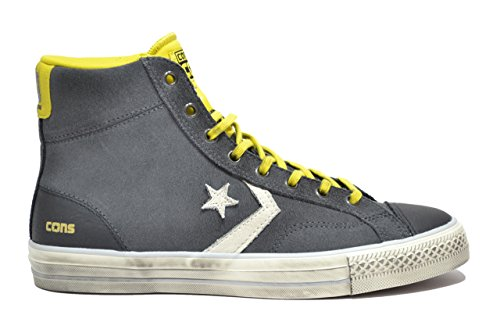 Converse - Converse All Star Scarpe Uomo Nere Player Hi - Nero, 41