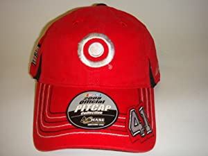Buy NASCAR #41 Reed Sorenson Target Red Adjustable Velcro Pit Cap by NASCAR