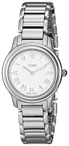 Fendi Classico Women's 26mm Silver Steel Bracelet & Case Quartz Watch F251024000