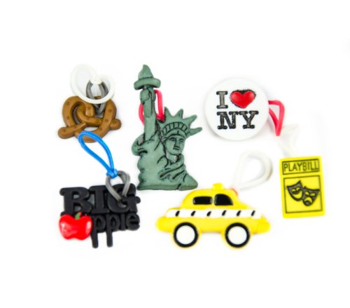 goloops! Around the World LIMITED SERIES EDITION New York (6 goloops! charms) - 1