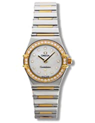 Omega Women's 1365.75.00 Constellation My Choice Quartz Mini Diamond Watch
