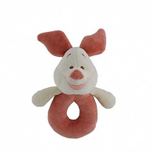 Disney Piglet Plush Rattle Natural Cotton Collection