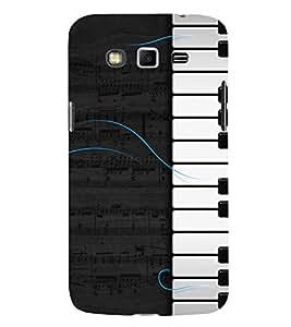 Piano Design Cute Fashion 3D Hard Polycarbonate Designer Back Case Cover for Samsung Galaxy Grand I9082 :: Samsung Galaxy Grand Z I9082Z