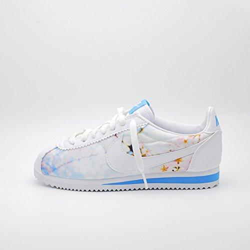 Nike Donna W Classic Cortez Cherry BLS scarpe sportive Bianco Size: 36 1/2