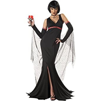Plus Size Female Vampire Costume - Immortal Seductress 2X