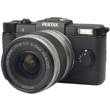 Pentax Q Black Kit w/ 02 Standard Zoom Lens
