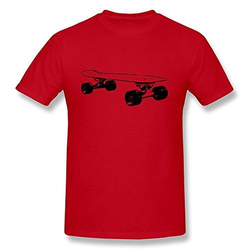 Boyfriends Longboard Skateboard Vintage Tshirt Size Xs Color Red