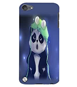 APPLE IPOD TOUCH 5 PANDA Back Cover by PRINTSWAG