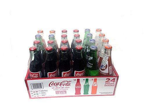 Coca Cola, Sprite, Fanta 12oz Glass Bottle (Pack of 24) Hecho En Mexico! (Mexico Soda compare prices)