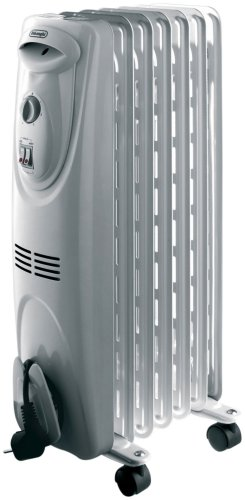 De'Longhi HOR KH590715 Oil Filled Radiator, 1.5 kW