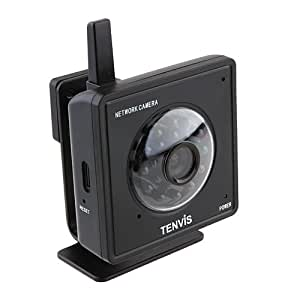 Tenvis MINI319w Caméra ip surveillance sans fil Wifi infrarouge Audio Vue Mobile CCTV Webcam IR-CUT 4MM Caméra Black