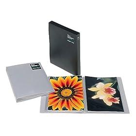【クリックで詳細表示】Amazon.co.jp|FUJICOLOR アルバム ポケット プロフェッショナルプリントファイルPR-LL・K [ 60枚収納 ] 2L 51~100枚 グレー 32972|カメラ・ビデオ通販