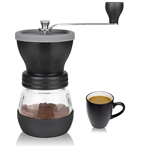 Coffee Grinder, Aidodo Hand Burr Coffee Grinder Manual Coffee Grinder, 100 Gram