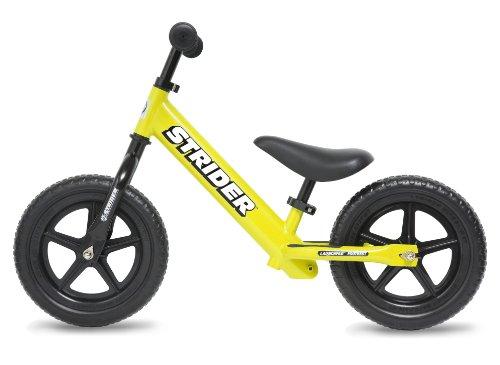 キッズ用ランニングバイク ストライダー(ST-J4)イエロー (日本正規品)(安心の1年間保証付)