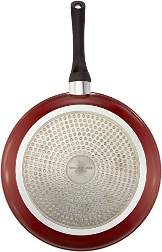 The Mexican Kitchen by Rick Bayless 11-inch Fry Pan, Large, Red