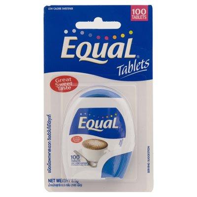Equal Great Sweet Taste 8.5-Grams Package (100 Tablets), 5 Count