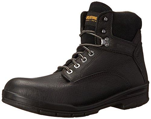 Wolverine Men's W03123 Durashock SR Boot, Black, 8 M US