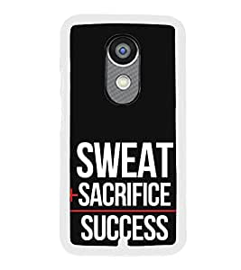 ifasho quotes on success Back Case Cover for Moto X2